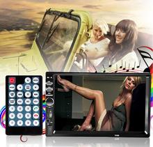 "2DIN car radio bluetooth car audio 7"" HD radio coche In Dash Car Touch Screen Stereo MP3 MP5 CD Player USB(China (Mainland))"