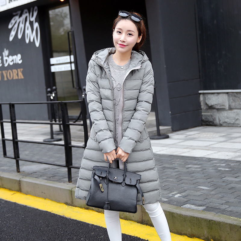 New 2016 Fashion Women Winter Jackets Long Slim Cotton Coat With Hooded Female Jacket Womens Outwear Parkas for Woman OvercoatОдежда и ак�е��уары<br><br><br>Aliexpress