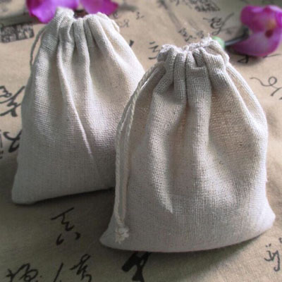 """Linen Drawstring bags 10x15cm(4""""x6"""") can personalized logo Necklace Bracelet Jewelry Gift Pouches Muslin Wedding Favor holder(China (Mainland))"""