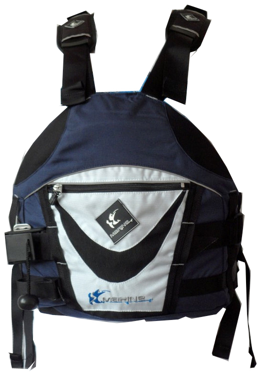 Hot sale Blue Buoyancy Aids Life Jacket Vest PFD for Rafting Kayaking Sailing Fishing #2  Top QualityFree Shipping