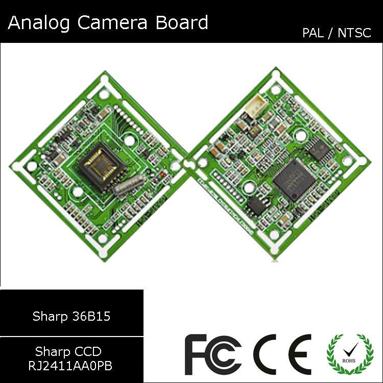 [#9315] Sharp 36B15 & Sharp RJ2411AA0PB Video CCTV Analog CCD Sharp Camera Module Board(China (Mainland))