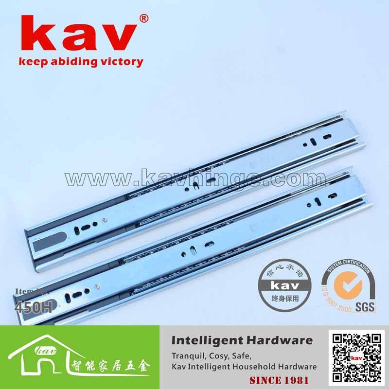 product kav factory direct full buffer ball rail tracks Nepal Drawer Slides Furniture Hardware