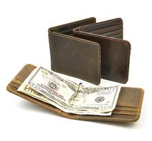 Бумажник  от Beautiful bags shop для Мужчины, материал Подлинная Crazy Horse кожа артикул 32477488618