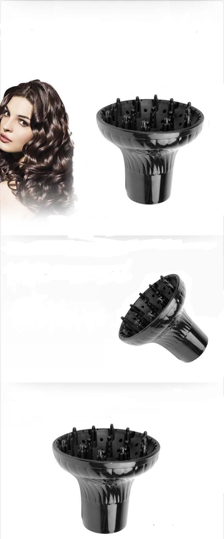 волосы бигуди универсальный интерфейс рассеянного дефлектора капота сушки волос прямые волосы становится магическим пушистые кудри