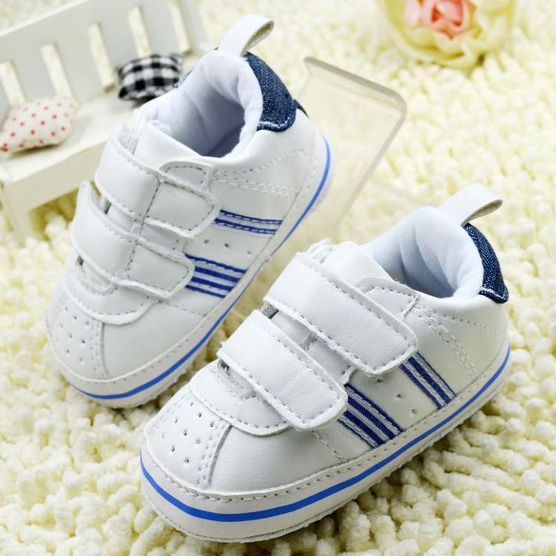 Гаджет  Baby Boy Girls Shoes Soft Sole Hot Sale Kids Toddler Infant Boots Prewalker First Walkers 29 Colors None Детские товары