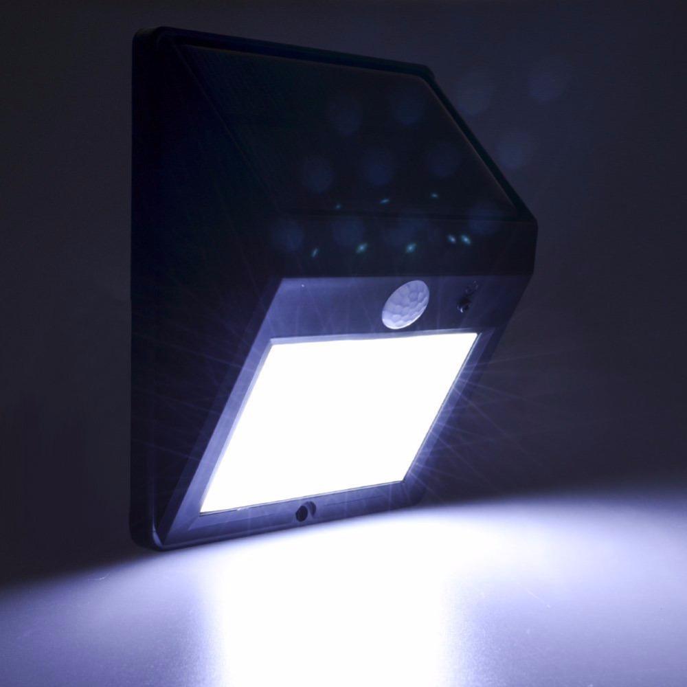12 LED Solar lamp Infrared Motion Sensor Optical Sensor Waterproof Outdoor Lighting Solar Charged Powered Wall mount light