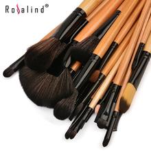 2013 new !! Professional 24 Makeup Brush Set tools Make-up Toiletry Kit Wool Brand Make Up Brush Set Case free shipping
