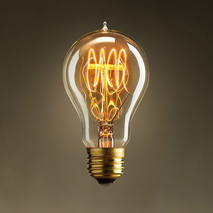Free shipping E27  Personality  Tungsten filament  Retro  Light source  bulb use for pendant light chandelier