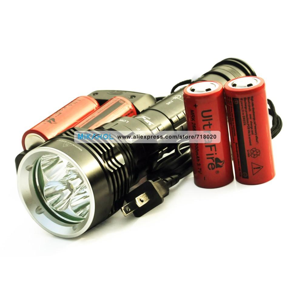 NEW 2015 Super Bright 30W 100M Lantern Lanterna LED CREE L2 6000 Lumens High Power Torch Flashlight Torch(China (Mainland))