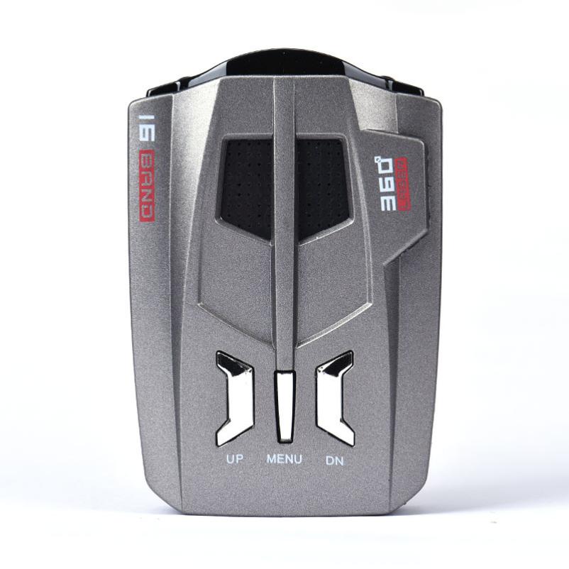 Hot selling V9 Car Anti Police LED GPS Radar Detector 16 Band NK Ku Ka Laser
