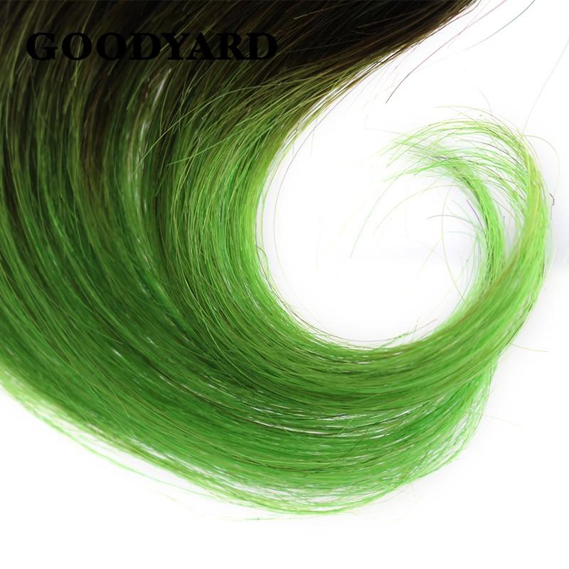 New Arrival Cheap Ombre Brazilian Body Wave Green Color 6 Pieces Deal,Brazilian Virgin Hair 150g Brazilian Body Wave