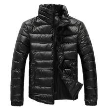 2015 New Fashion Slim Winter Coat Men Good Quality Cotton-padded Winter Jacket Men