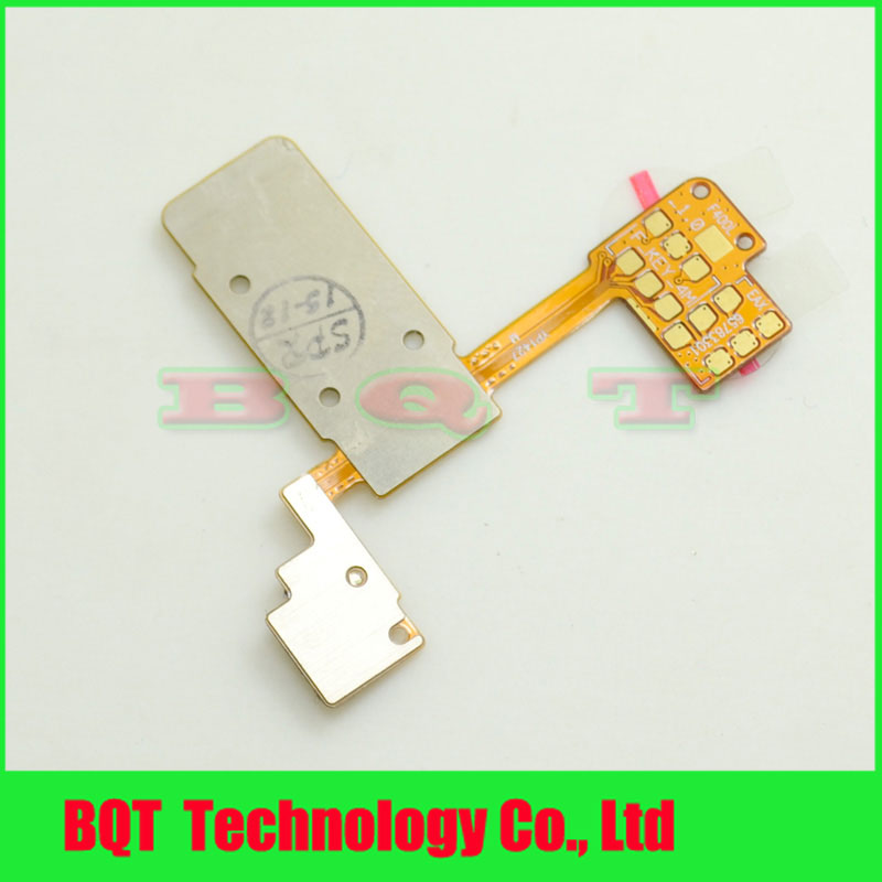 Brand NEW Power Flex Cable For LG G3 D850 D855 F400 VS985 On/Off Volume Button Key Flex Cable Free shipping(China (Mainland))