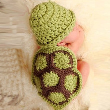 Scolour Newborn Baby Girls Boys Crochet Knit Costume Photo Photography Prop Outfits newborn fotografia clothes and accessories(China (Mainland))