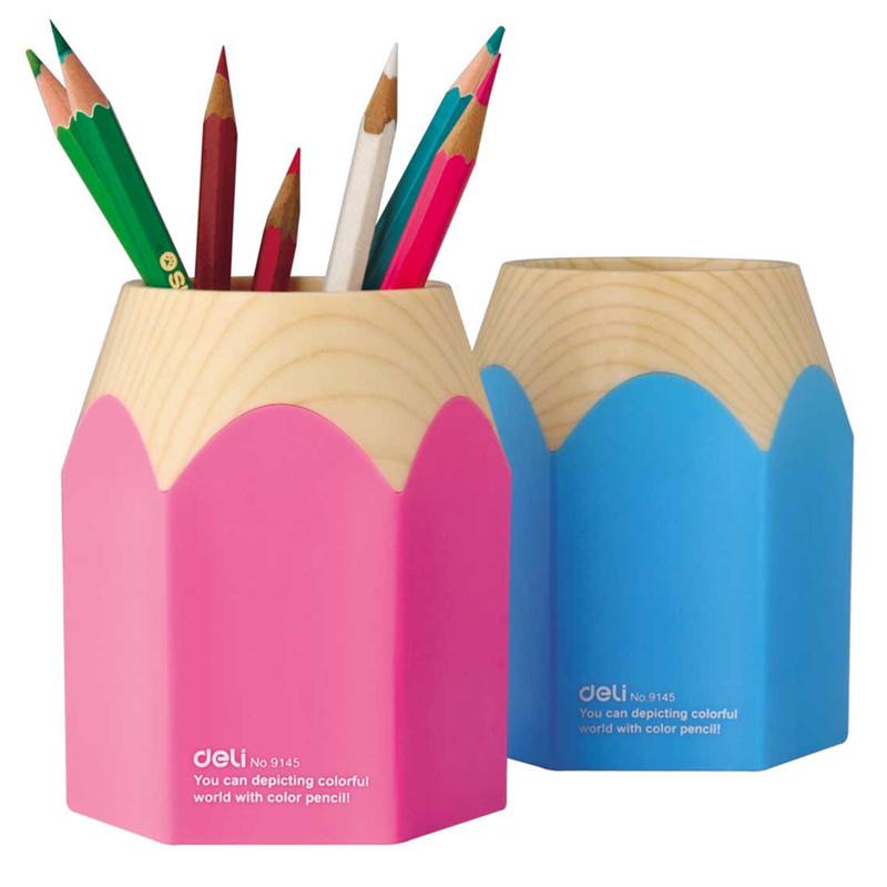 Big pencil sharp pen holder Desk organizer Storage zakka office accessories School supplies porta caneta para escritorio 6435(China (Mainland))