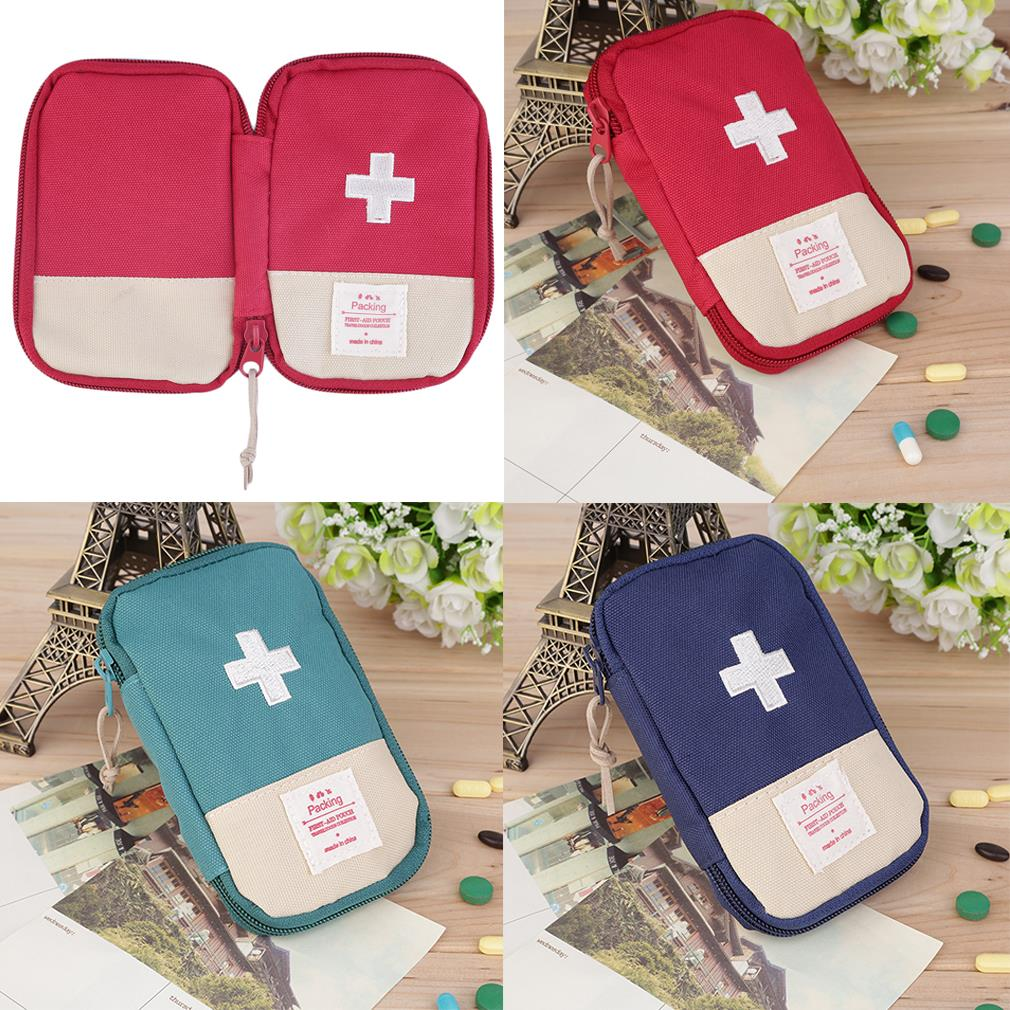 New Outdoor Camping Home Survival Portable First Aid Kit bag Case free shipping(China (Mainland))