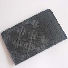 hot sale men business card holder real leather 2014 brand credit card case promotion hot sale