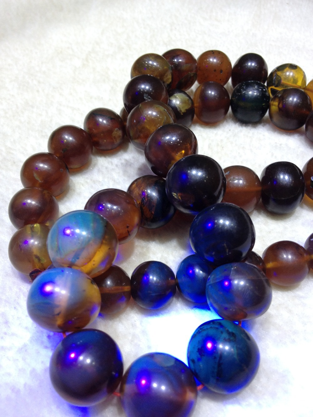 Vintage Antique OLD Cherry Round Beads Natural BALTIC AMBER Necklace 122.7g(China (Mainland))