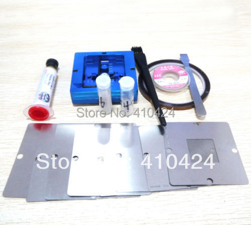 XBOX 360 & PS3 stencils & New 80mm reballing rework station & balls Kits(China (Mainland))