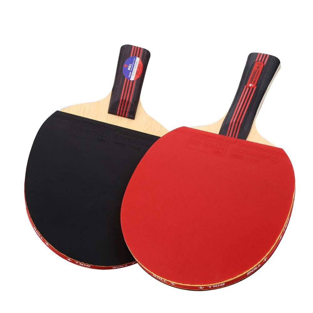 Table Tennis Rackets Ping Pong racket Pimples-in Bat Paddle Exercise Short/Long Handle Table Tennis Blade Table Tennis Rubber(China (Mainland))