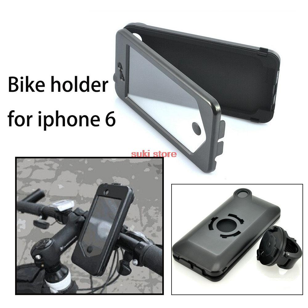 """new hot Bike Bicycle Motorcycle Handlebar Mount Holder Waterproof Phone Case Bag Pouch Phone Mount Holder For iPhone 6 4.7""""(China (Mainland))"""