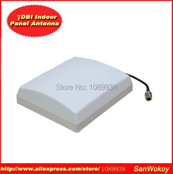 1шт 800-2500 МГц 7-9dbi плоская панельная антенна для GSM,CDMA и WCDMA в Booste репитер Усилитель