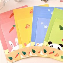 Cartoon Animals Collection Letter Pad Paper With Envelope 6 sheets letter paper+3 pcs envelopes per set writing paper Stationery(China (Mainland))