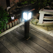 Rome street can lawn lamp energy garden lights outdoor waterproof home Villa