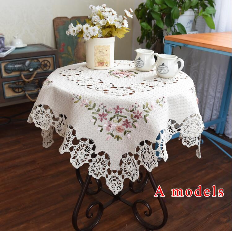 Promoci n de lino bordado mantel compra lino bordado for Manteles de mesa cuadrada