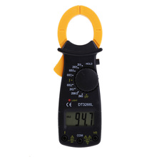 New LCD Digital Clamp Meter AC DC Current Voltage Multimetro Resistance Tester FEN#(China (Mainland))