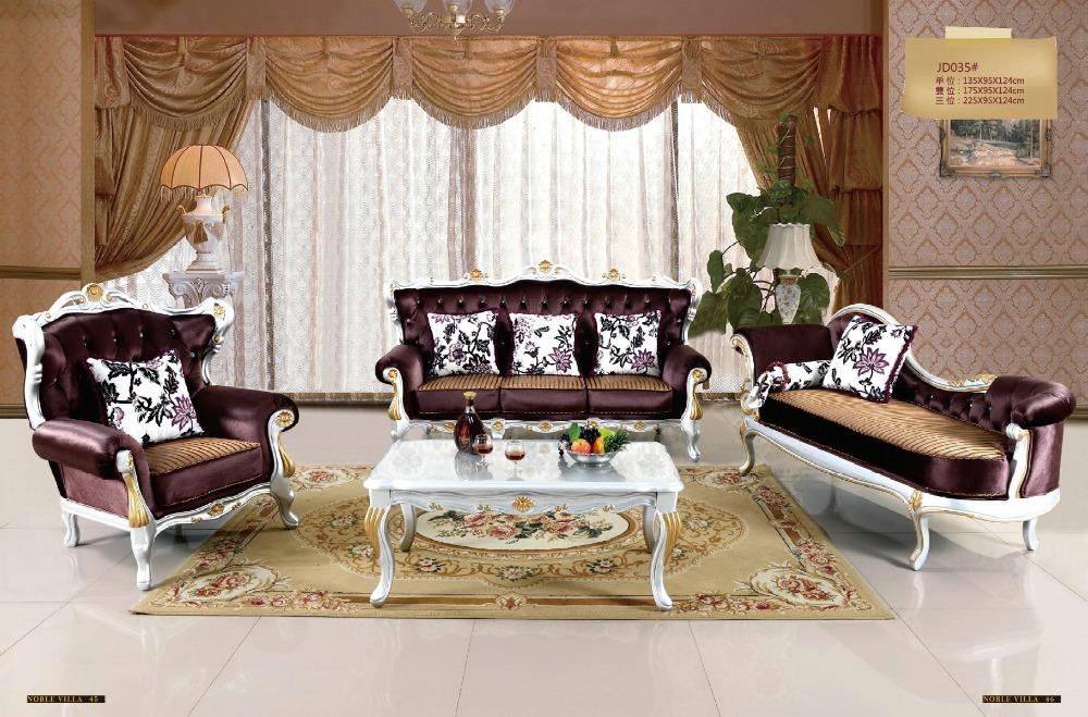 Solid wood sofa set promotion shop for promotional solid for Sala de estar antigua