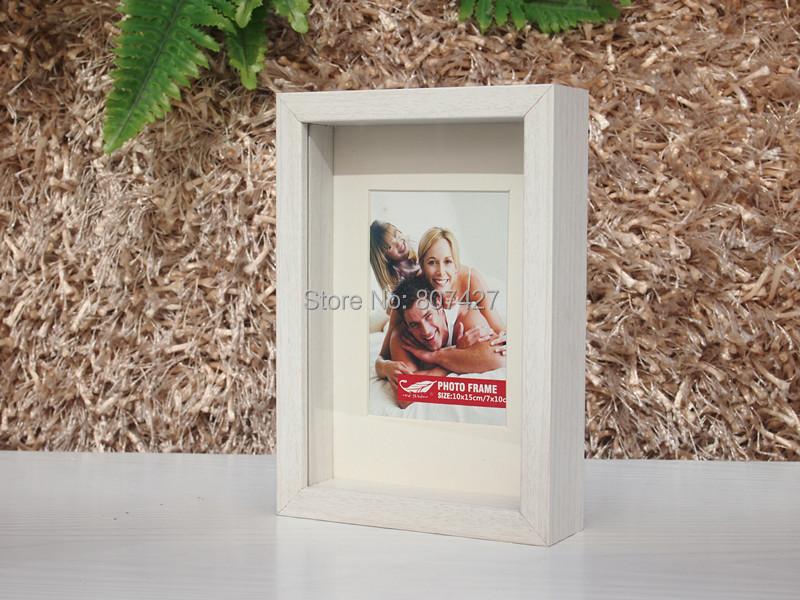 Frame Shdow Box Frame Box Wood frame For Photo 4x6 inch U.S.A Frame(China (Mainland))