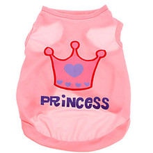 Buy Princess Crown Pet Dog Clothes T-Shirt Dog Vest Small Dogs Coat Jacket Puppy Sweatshirt Costume Chihuahua Clothing Apparel for $1.49 in AliExpress store