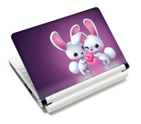 "Rabbit 15.4"" Laptop Skin Cover Case Notebook Sticker 11"" 12""13"" 14"" 15""(China (Mainland))"