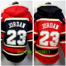 Black 23 Michael Jordan Hoodies Sweatshirts,Stitched Logo Embroidery,Red Basketball Hoody Recommend Size M-3XL Can Mix Order(China (Mainland))