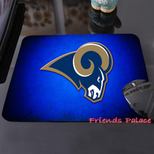 2015 Hot Sales St Louis Rams Logo Customized Mouse Pad Computer Notebook Laptop Gaming Mouse Mat Pad