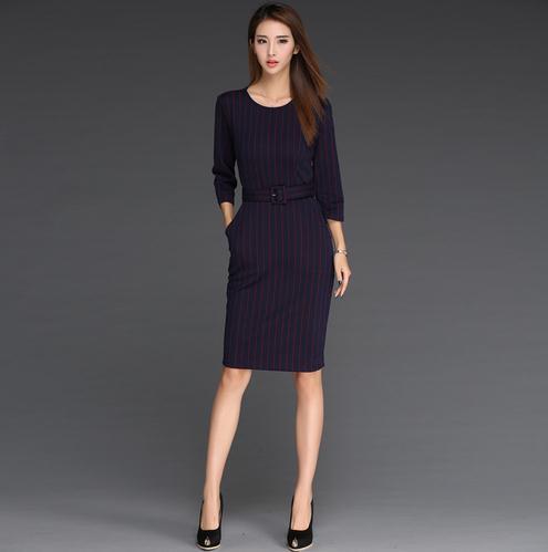 2016 clothing vintage formal office wear dress