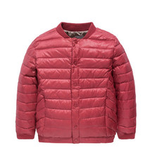 down jacket thin coats male children ZhongTong brief paragraph winter 2014 new children's clothing(China (Mainland))