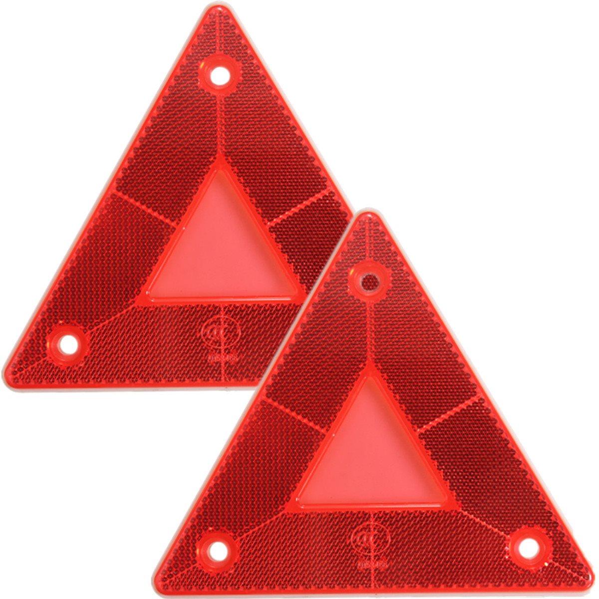 2Pcs Rear Light Car Truck Trailer Fire Triangle Reflector Safty Warning Board(China (Mainland))
