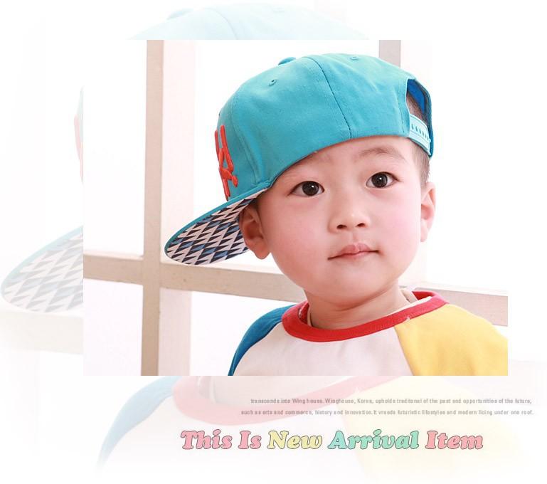 Прохладный! Новое письмо вышивка мальчик девушка шапка для шляпу ребенка Snapback малыш Hat бейсболка малыш хип-хоп 3 - 8 лет