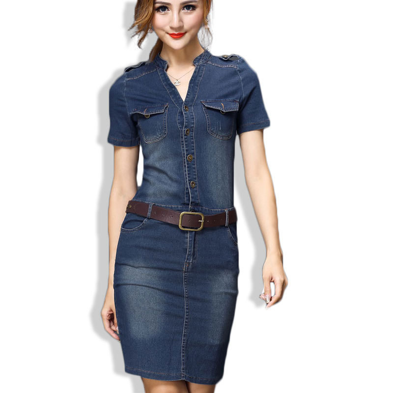 Excellent 32 Beautiful Denim Dress To Inspire Your Daily Fashion