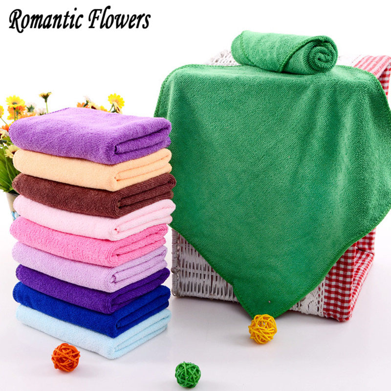 1 / Bag , Luxury Soft Cotton Face / Hand Car Cloth Towel 25 X 25CM Clean House(China (Mainland))