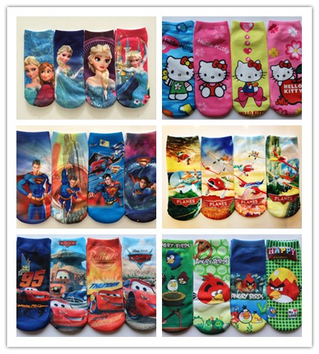 New fashion cartoon socks for children kids socks cotton baby boys girls sock many styles 3 pairs/lot free shipping<br><br>Aliexpress