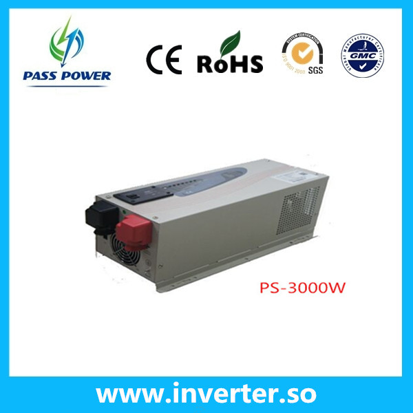 Factory sell pure sine wave off grid 3000w solar inverter charger &ups(China (Mainland))