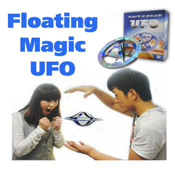 EMS 48pcs Mystery Magic UFO Suspended air floating floats in mid-air trick hot educational toys