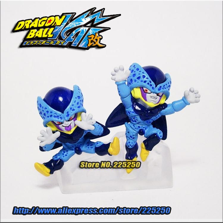 Japanese Anime DRAGONBALL Dragon Ball Z/Kai Genuine Original BANDAI Gashapon PVC Toys Action Figures HG Part 16 Cell Juniors(China (Mainland))