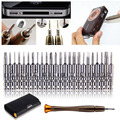 2017 1PCS New Arrival 25 in 1 Silver Steel Alloy Torx Screwdriver Repair Tool Set For