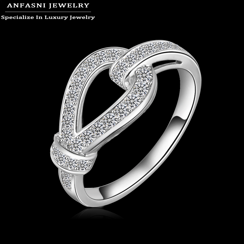 anfasni 2016 new arrival luxury style wedding ring real