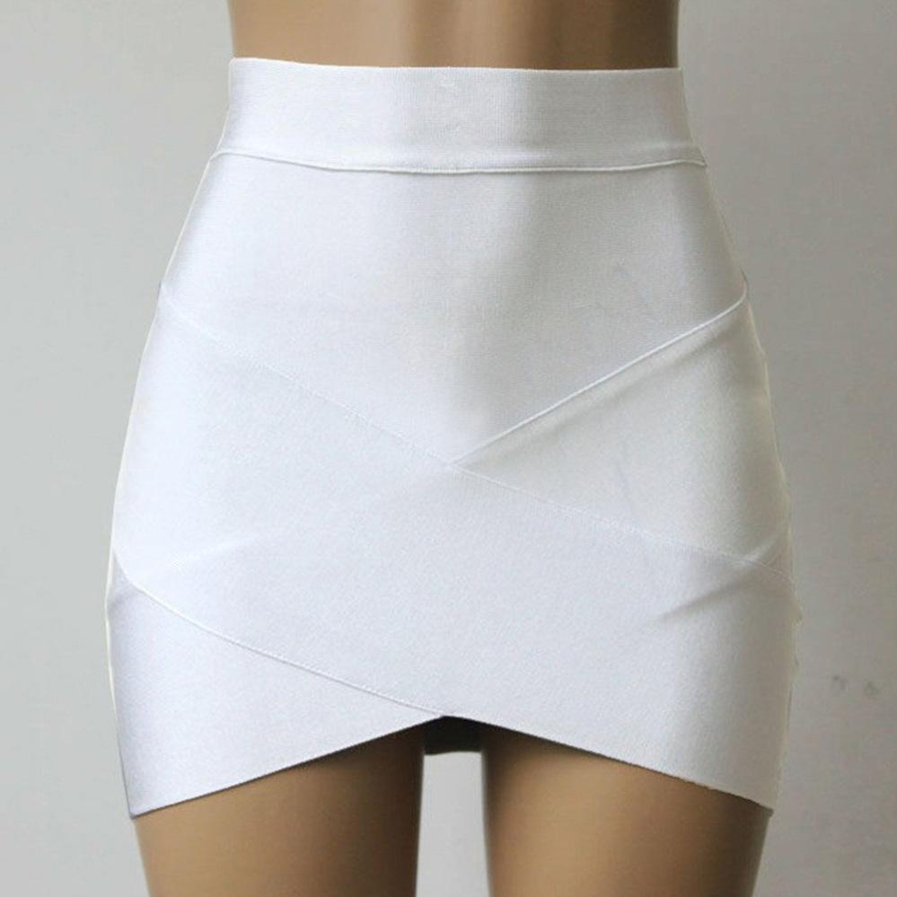 White Short Pencil Skirt | Jill Dress