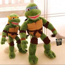 New TMNT 1pcs 28cm the Teenage Mutant Ninja Turtles Plush Toys Dolls Movies & TV Toys & Hobbies(China (Mainland))
